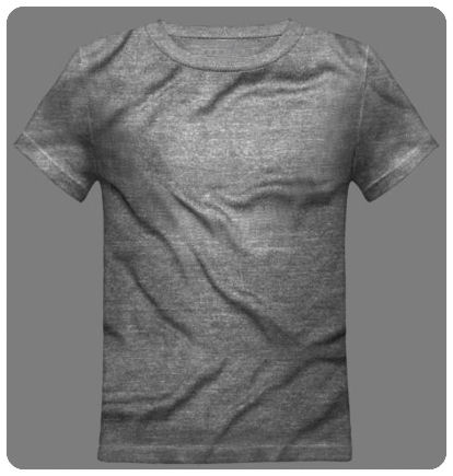 Size 6-8 Small Heather Grey Youth Basic Short Sleeved Tee