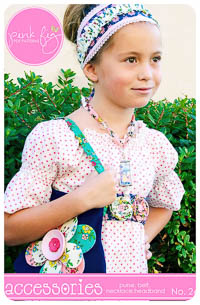 Accessories PDF Pattern - Pink Fig - One size fits all