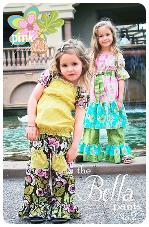 The Bella Pants by Pink Fig - size 6 mo thru 10 yrs