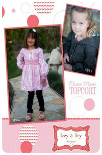 Claire Marie Topcoat - Izzy & Ivy (size 2-10)