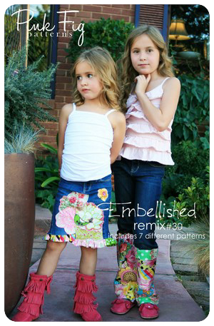 Embellished Remix by Pink Fig - One Size Fits All