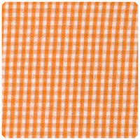 "Fabric Finders - Orange 1/16"" Gingham - Chubby Fat Quarter"