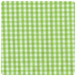 "Fabric Finders - Bright Lime 1/16"" Gingham - Chubby Fat Quarter"