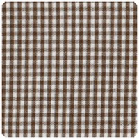 "Fabric Finders - Chocolate Brown 1/16"" Gingham - Yardage"