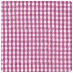 "Fabric Finders - Magenta 1/16"" Gingham - Chubby Fat Quarter"