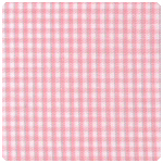 "Fabric Finders - Pink 1/16"" Gingham - Chubby Fat Quarter"