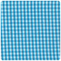 "Fabric Finders - Turquoise 1/16"" Gingham - Yardage"