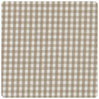 "Fabric Finders - British Tan 1/16"" Gingham - Chubby Fat Quarter"