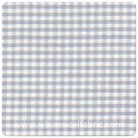 "Fabric Finders - Silver 1/16"" Gingham - Chubby Fat Quarter"