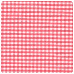 "Fabric Finders - Watermelon 1/16"" Gingham - Chubby Fat Quarter"