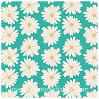 Anna Elise - Daisies Cloud Water - Fat Quarter
