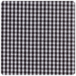 "Fabric Finders - Black 1/16"" Gingham - Chubby Fat Quarter"