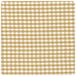 "Fabric Finders - Bronze 1/16"" Gingham - Chubby Fat Quarter"