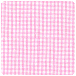 "Fabric Finders - Bubblegum 1/16"" Gingham - Chubby Fat Quarter"