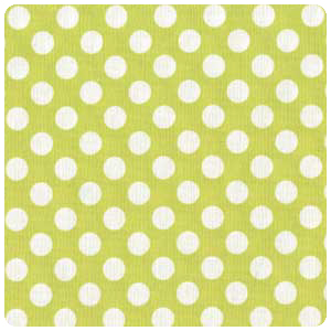 Michael Miller - Ta Dot in Lime - Fat Quarter