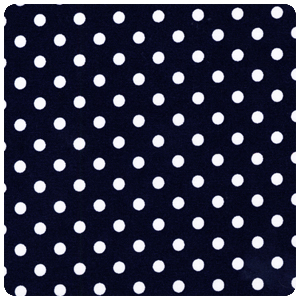 Michael Miller - Dumb Dot Navy - Fat Quarter