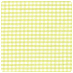"Fabric Finders - Chartreuse 1/16"" Gingham - Chubby Fat Quarter"