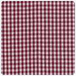 "Fabric Finders - Crimson 1/16"" Gingham - Chubby Fat Quarter"