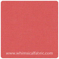 Fabric Finders - Coral Twill - Yardage