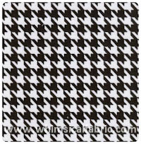 Fabric Finders - Black & White Houndstooth Twill - Yardage