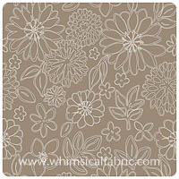 Gossamer - Wire Flowers Twig - Yardage