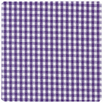 "Fabric Finders - Grape 1/16"" Gingham - Chubby Fat Quarter"