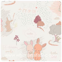 Littlest - Furry Tales Sweet - Fat Quarter