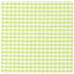 "Fabric Finders - Light Lime 1/16"" Gingham - Chubby Fat Quarter"
