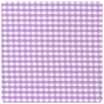 "Fabric Finders - Lilac 1/16"" Gingham - Chubby Fat Quarter"