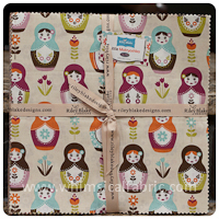 "Little Matryoshka 21 pc 10""x10"" Layer Cake Bundle"