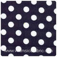 Fabric Finders - Navy Dot Corduroy - Chubby Fat Quarter