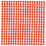 "Fabric Finders - Paprika 1/16"" Gingham - Chubby Fat Quarter"
