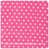 Fabric Finders - Hot Pink Dot Corduroy - Chubby Fat Quarter