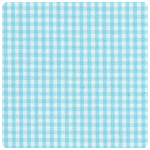 "Fabric Finders - Seafoam 1/16"" Gingham - Chubby Fat Quarter"