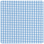 "Fabric Finders - Sky 1/16"" Gingham - Chubby Fat Quarter"