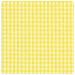 "Fabric Finders - Yellow 1/16"" Gingham - Chubby Fat Quarter"