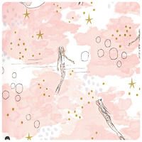 Magic! - Mermaid Magic in Blossom - Yardage