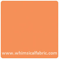 Solid Basics - Orange - Fat Quarter