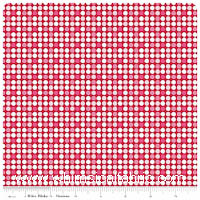 Christmas Basics - Dots on Red - Fat Quarter