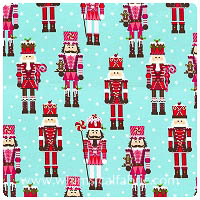 Michael Miller - Christmas - Nutcracker - Fat Quarter