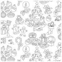 Color Me Fabric - Jolly Holiday - Fat Quarter