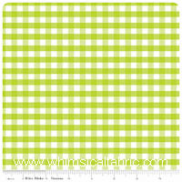 Gingham by Riley Blake - FLANNEL - Lime Green - Yardage