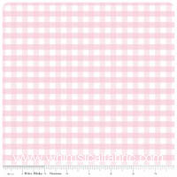 Gingham by Riley Blake - FLANNEL - Baby Pink - Yardage
