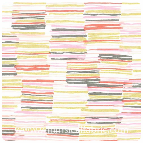 Arrow Flight - Offline Blush Metallic - Fat Quarter