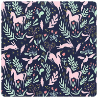 Magic! - Magic Folk in Navy - Yardage