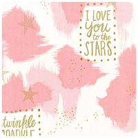 Magic! - You Are Magic in Pink - Fat Quarter