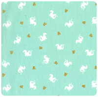 Magic! - Baby Dragon in Turquoise - Yardage