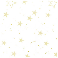 Magic! - Lucky Stars in White - Yardage