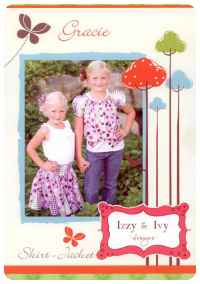 Gracie Skirt and Top/Jacket - Izzy & Ivy (size 1-14)