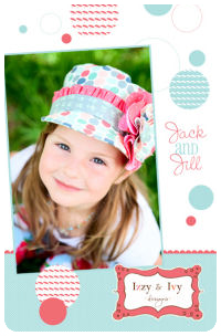 Jack and Jill Hat - Izzy & Ivy (size newborn - adult)